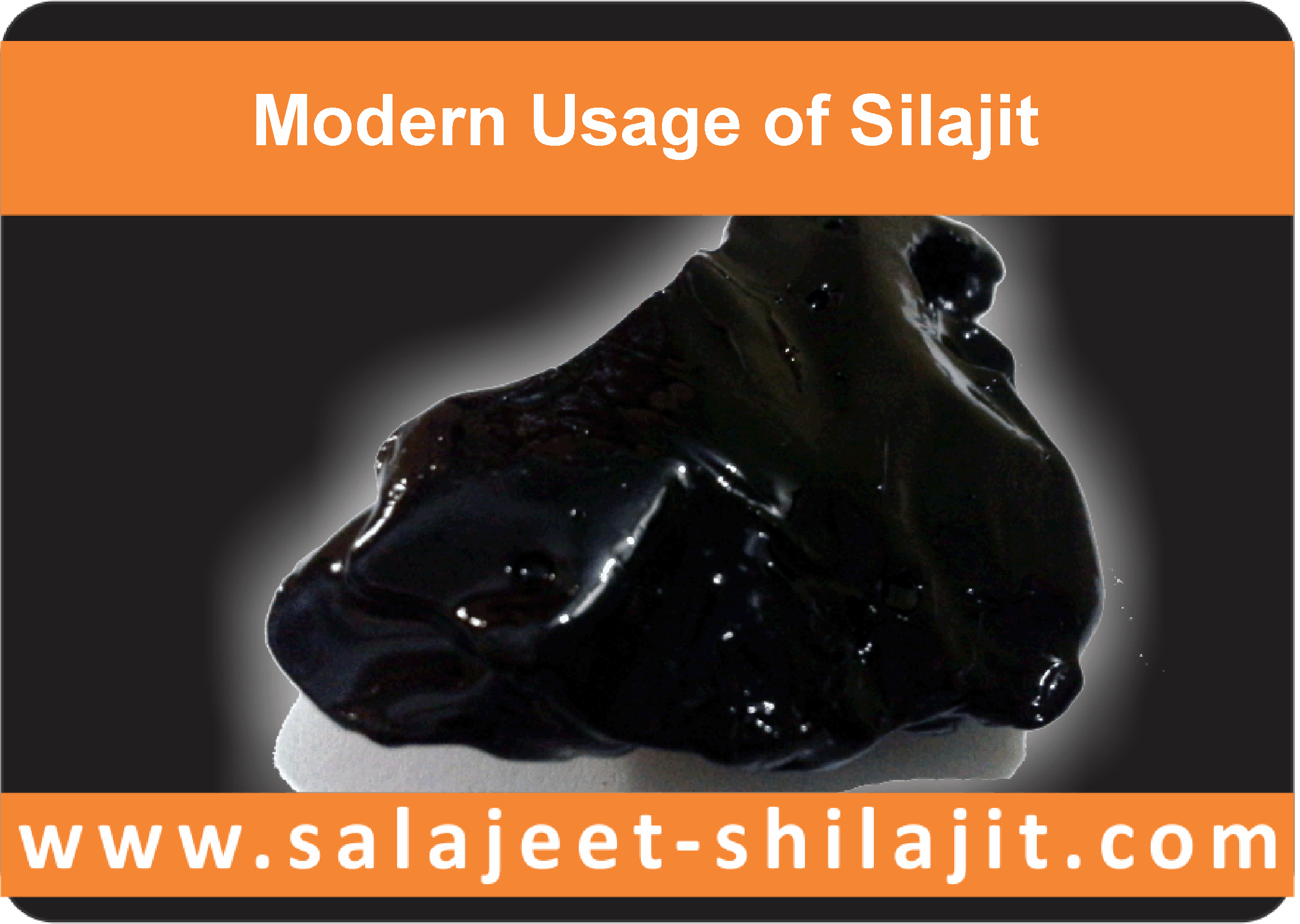 Modern usage of silajit